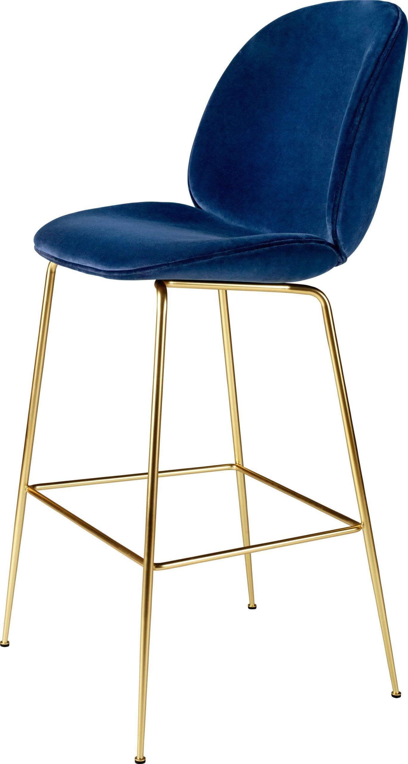 כסאות בר מעוצבים צבע כחול - GUBI