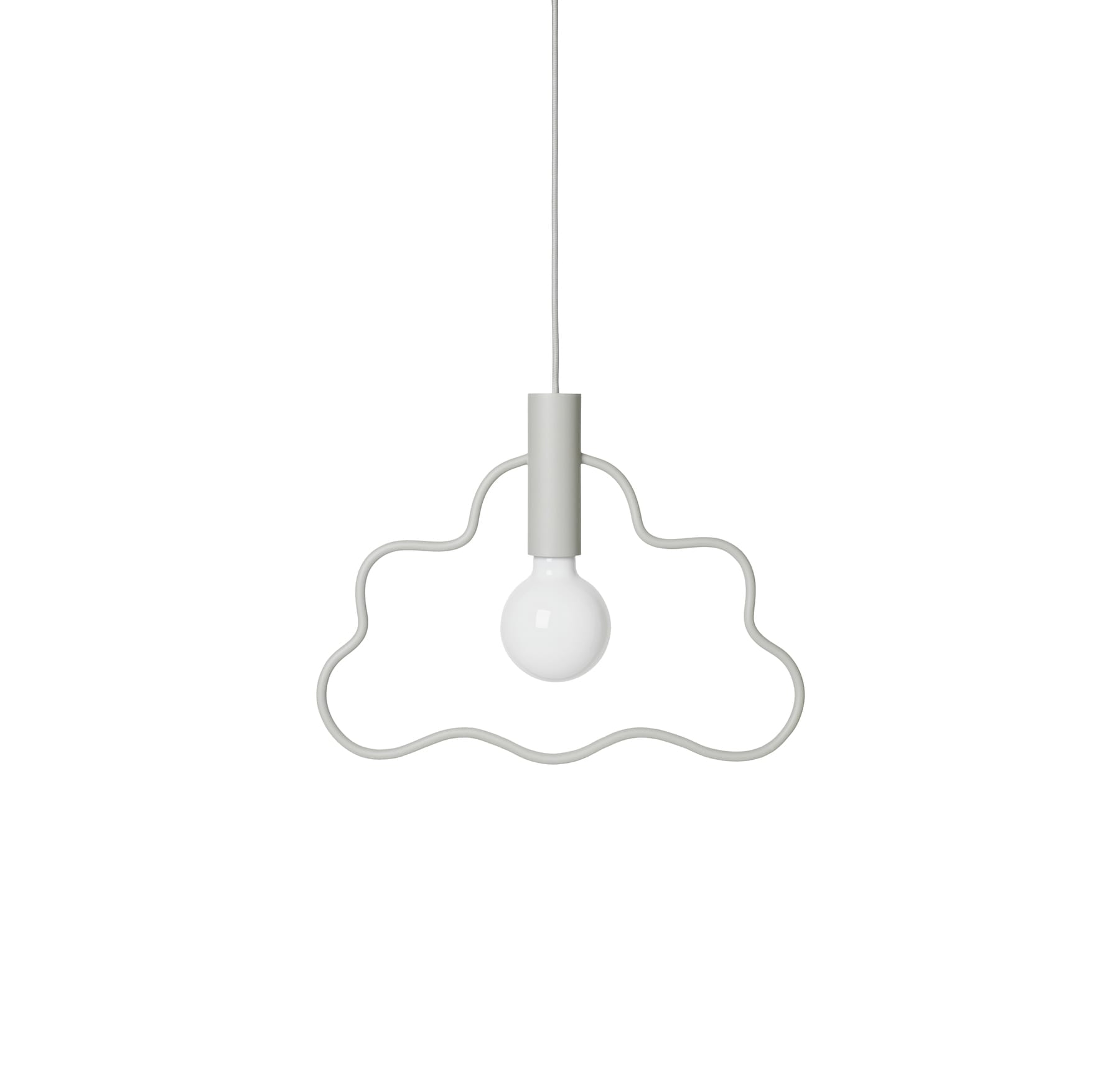 Cloud Pendant – Light Grey