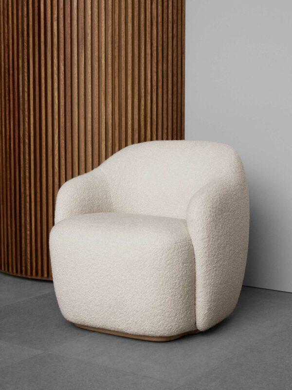 כורסא מעוצבת בצבע שמנת - FOGIA