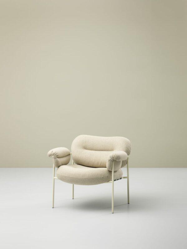 כסאות מעוצבים - גוון שמנת FOGIA