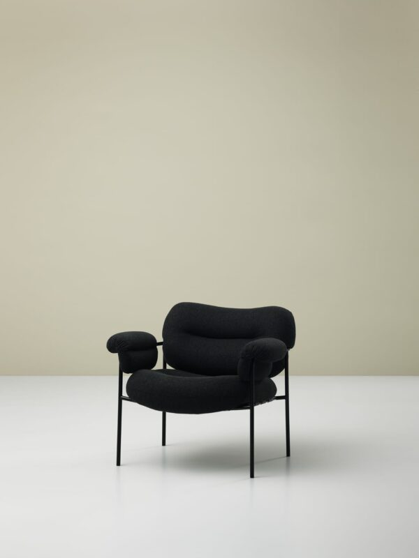 כסאות מעוצבים - גוון שחור FOGIA