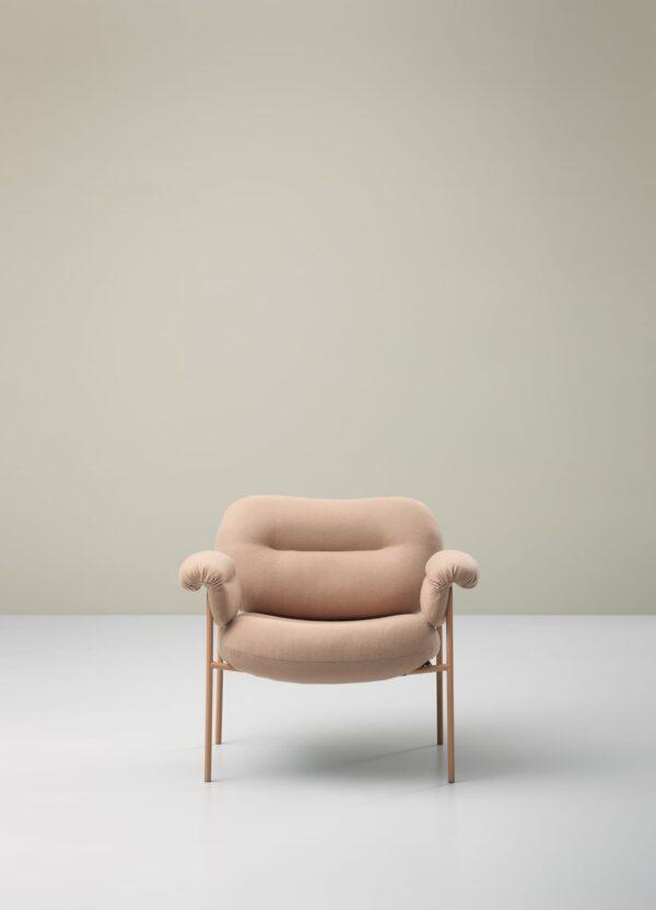 כסאות מעוצבים - גוון ורוד FOGIA