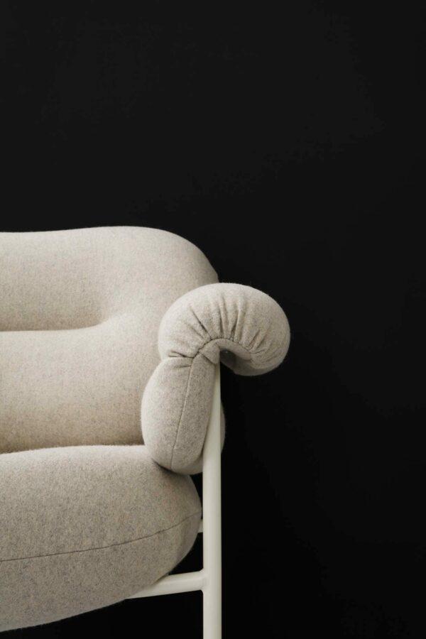 כסא מעוצב - אפור FOGIA