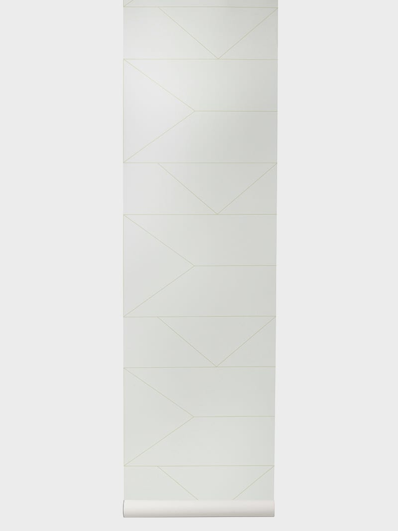 Lines Wallpaper – Off-white