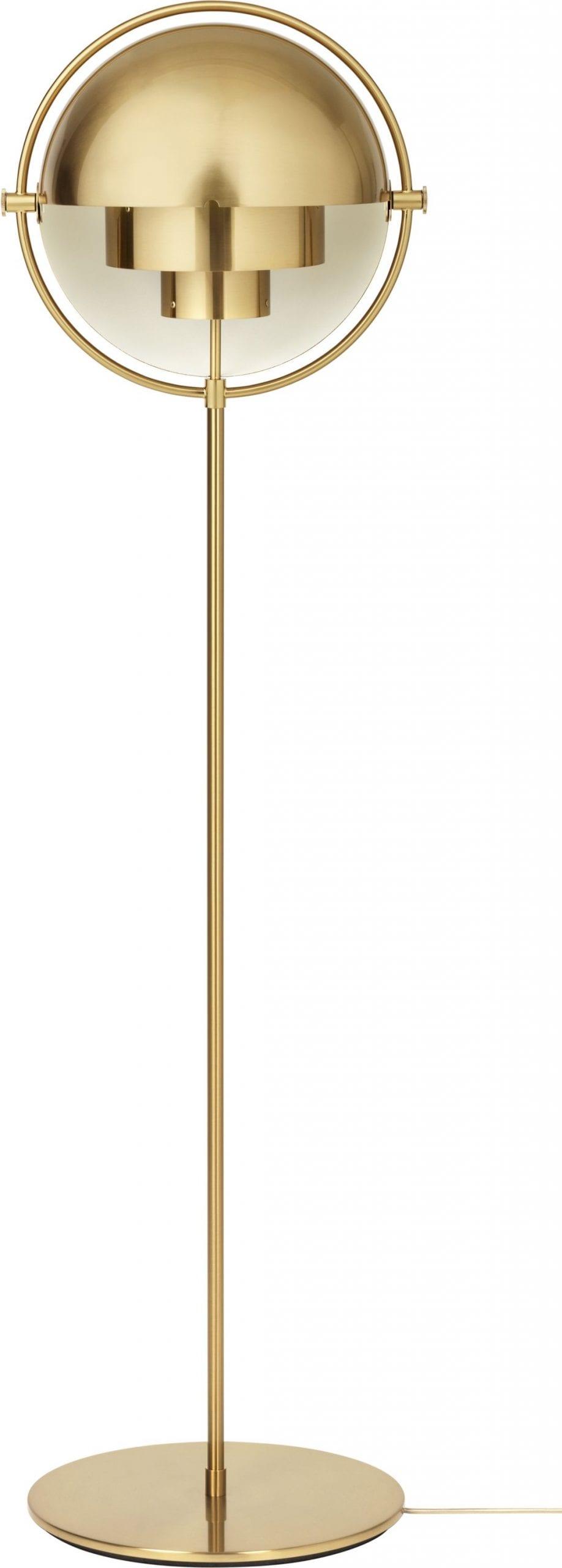 Multi Lite Floor Lamp – Brass Base