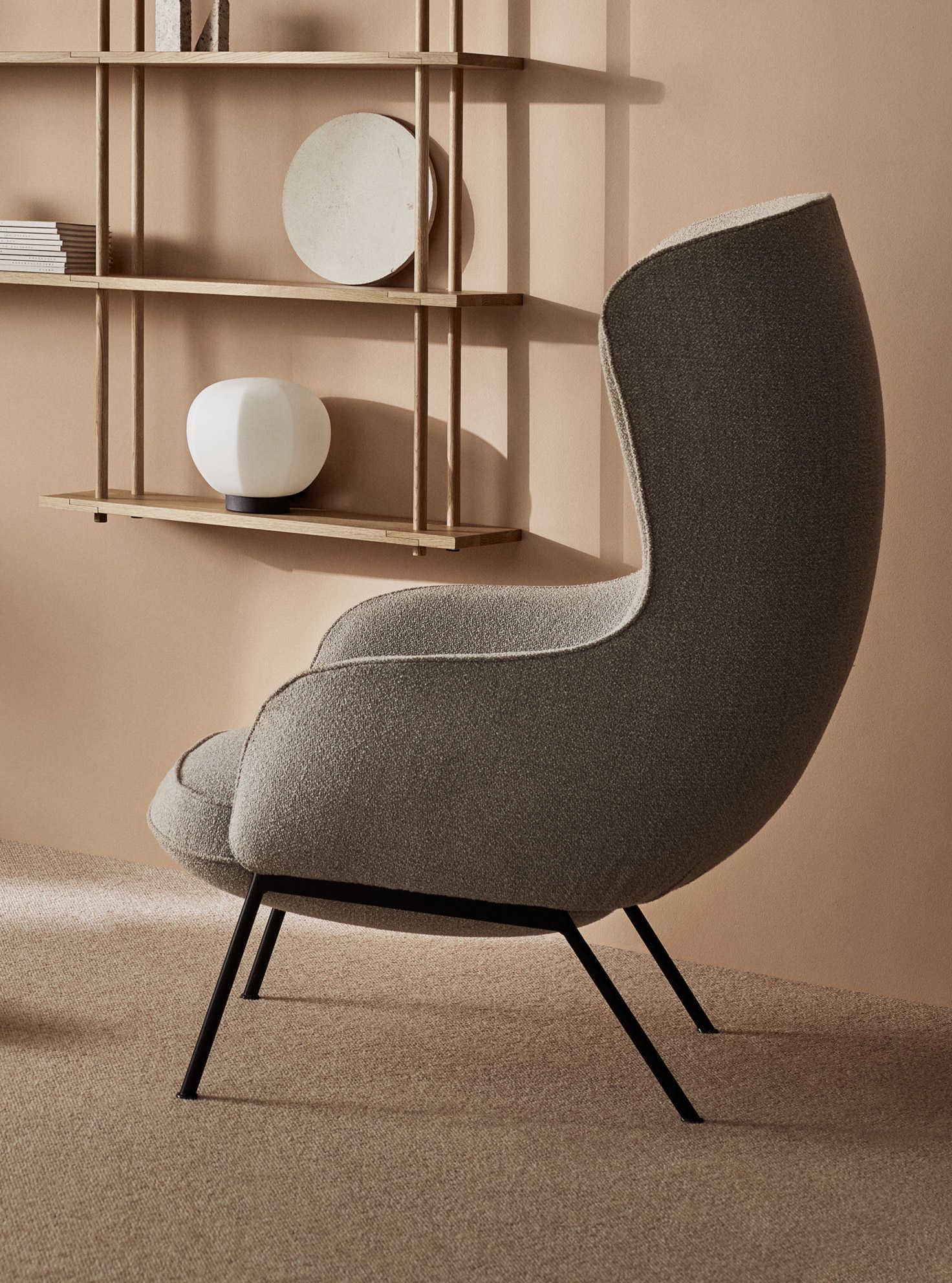 כסאות מעוצבים - גוון חום - FOGIA