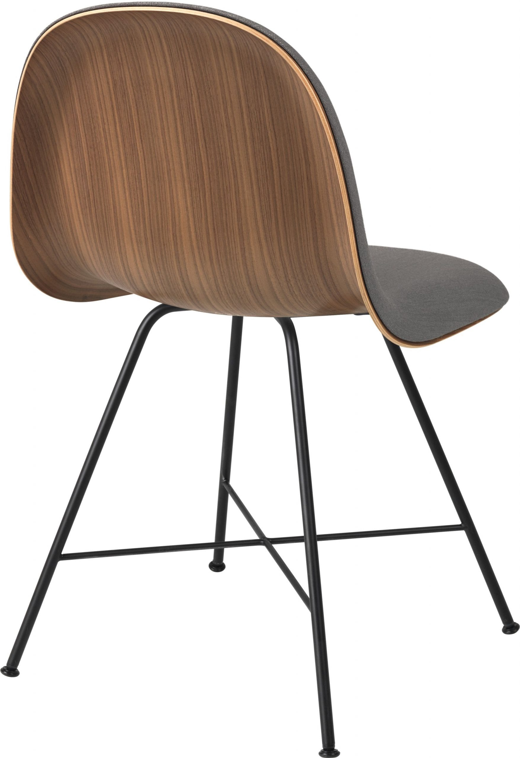 3D Dining Chair- Front Upholstered, Center Base