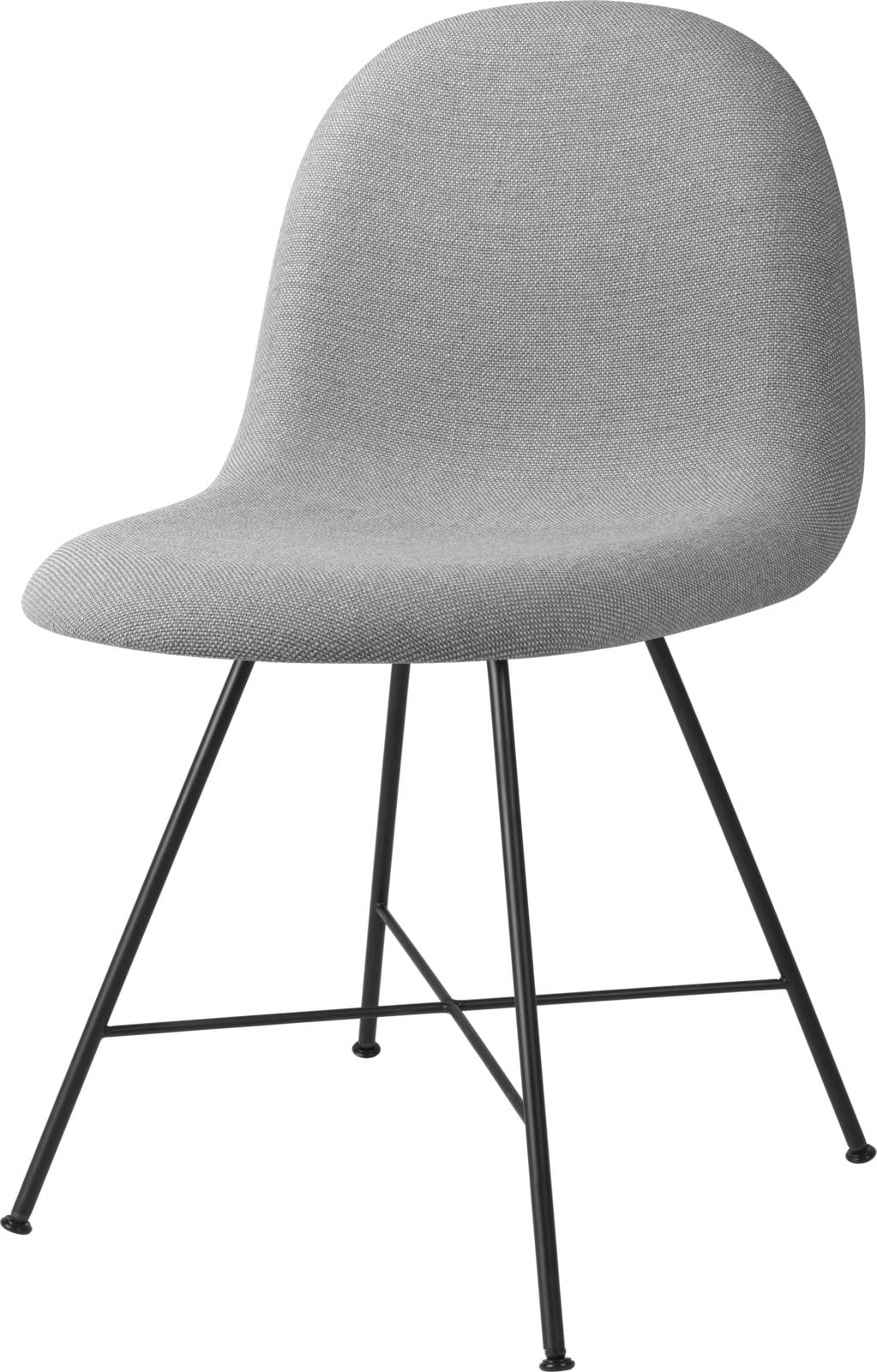 3D Dining Chair- Fully Upholstered, Center Base
