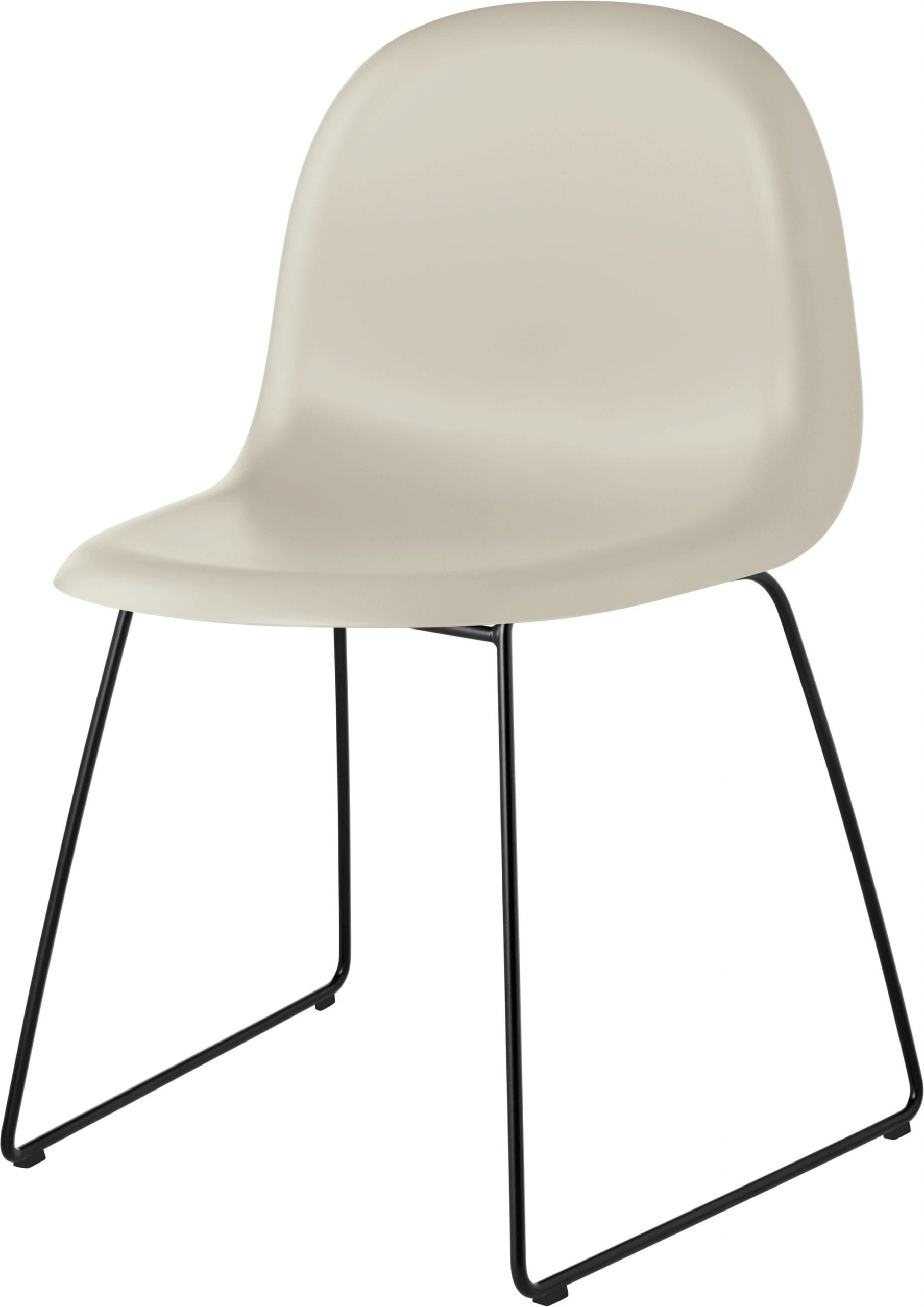 3D Dining Chair- Sledge Base