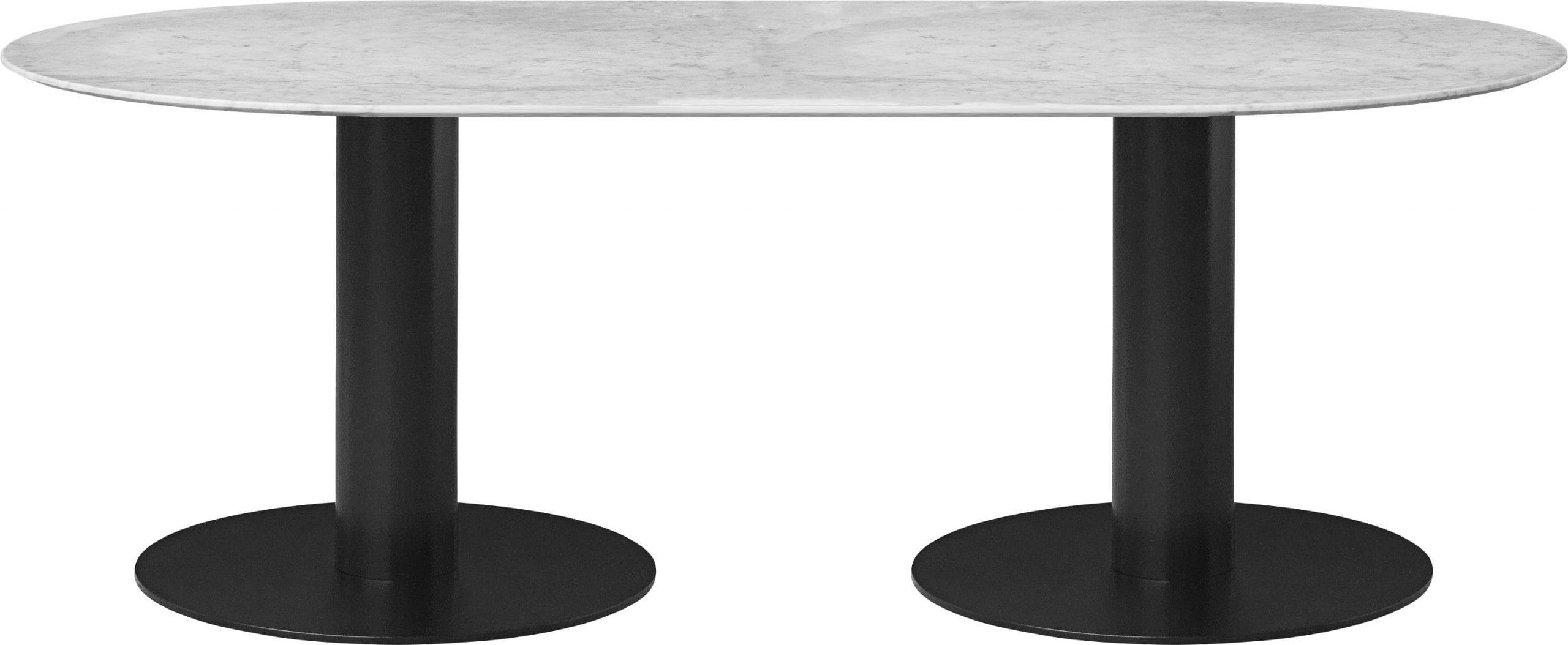 שולחן אוכל יוקרתי - לבן - GUBI