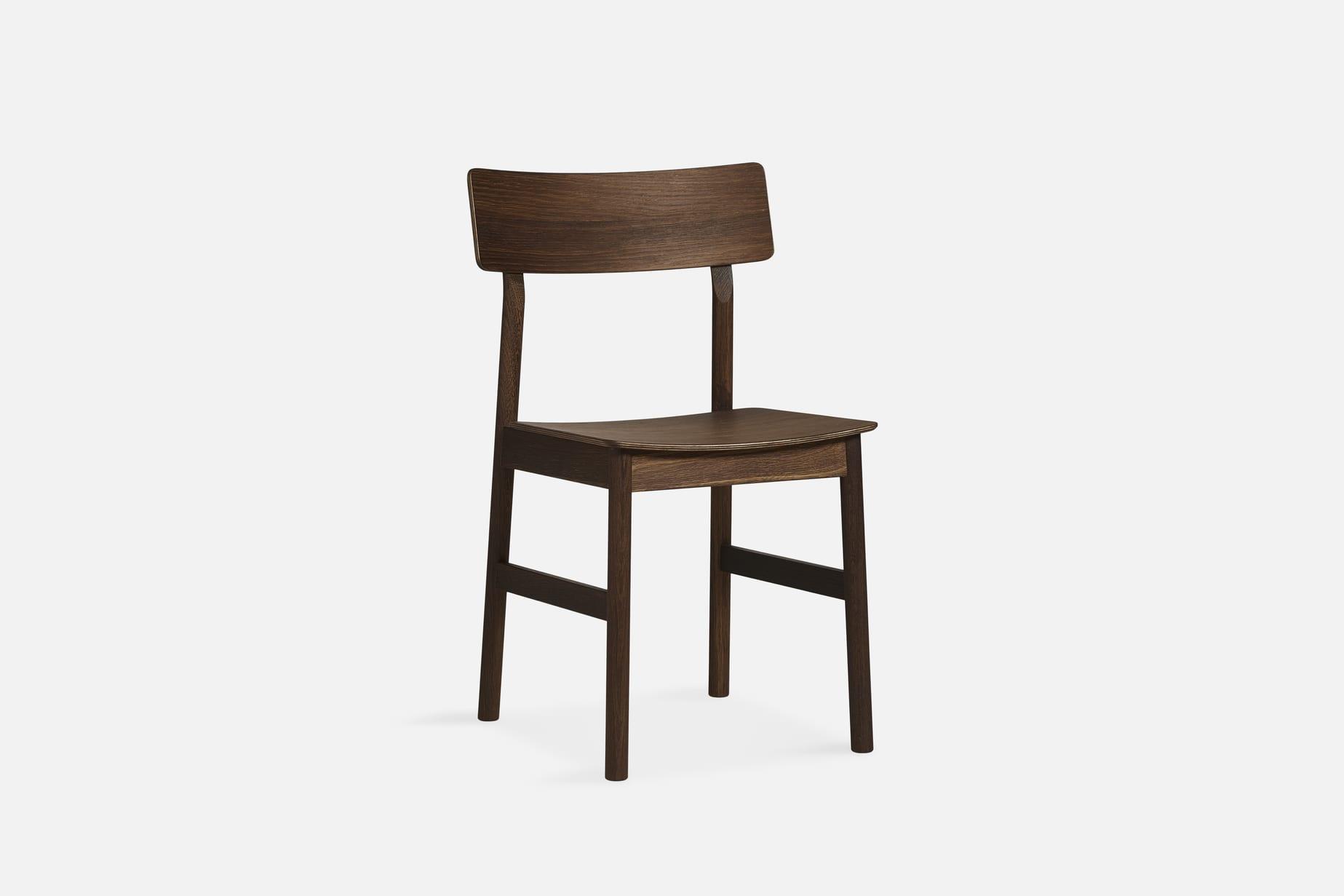 כסאות מעוצבים לפינת אוכל WOUD חום