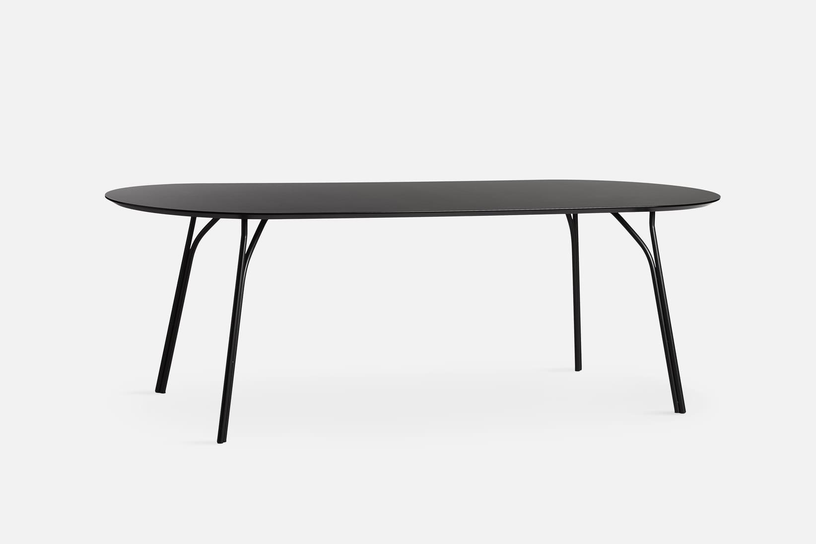 שולחן מעוצב - WOUD דגם שחור