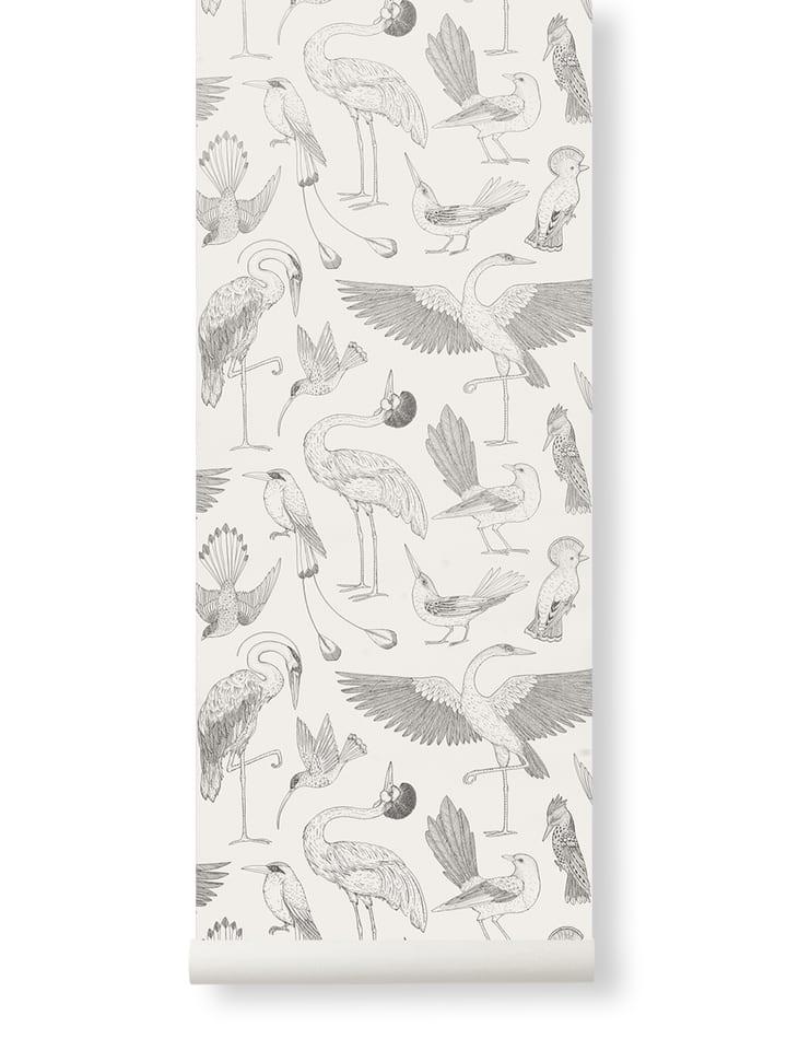 Birds Wallpaper- Off White