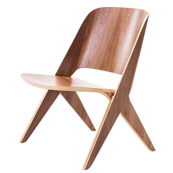 כסא lounge ייחודי עשוי עץ