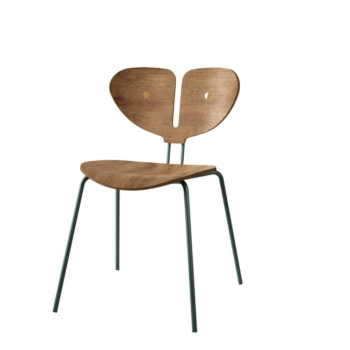 כסא מפוסל בעיצוב אלגנטי - כסאות יוקרה