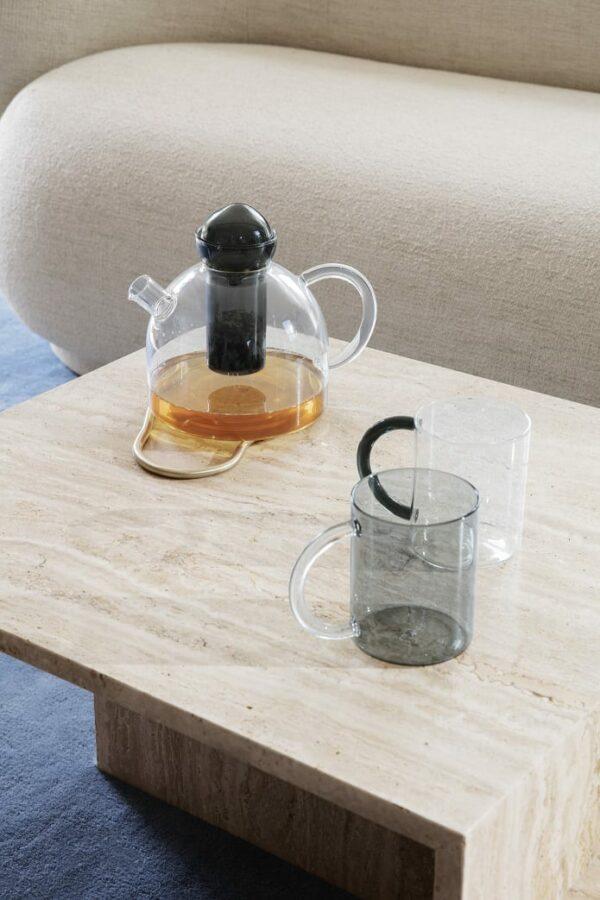 סט כוסות זכוכית בעבודת יד