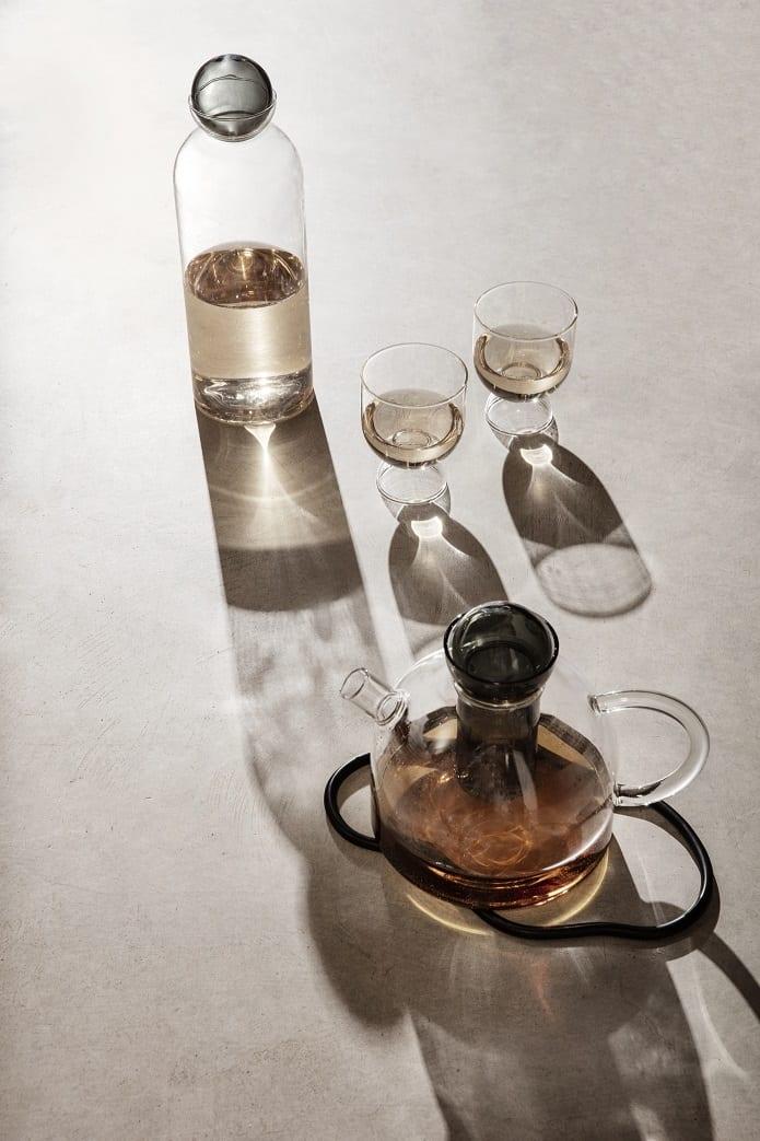 כוסות זכוכית - כלי בית מעוצבים