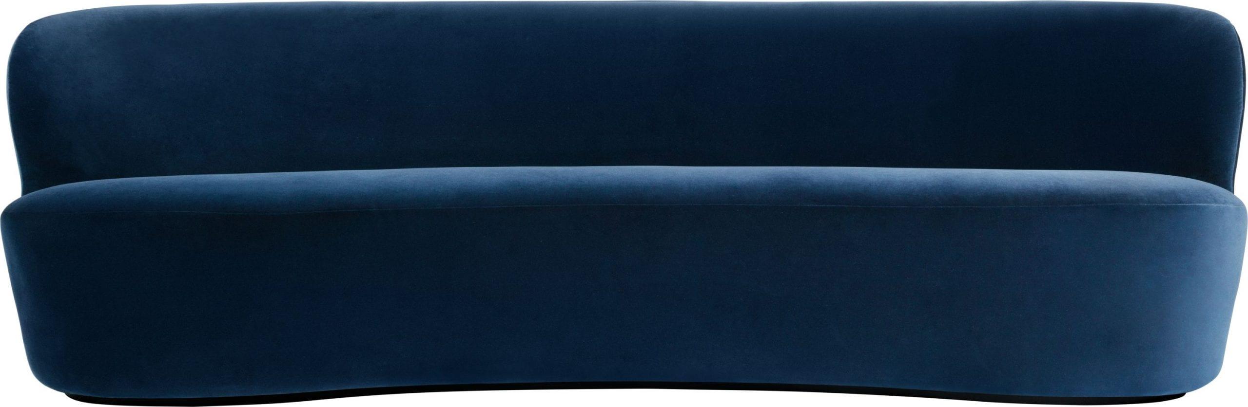 ספה מעוצבת אובלית