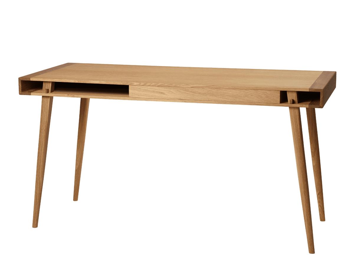 שולחן עבודה מעוצב מעץ אלון