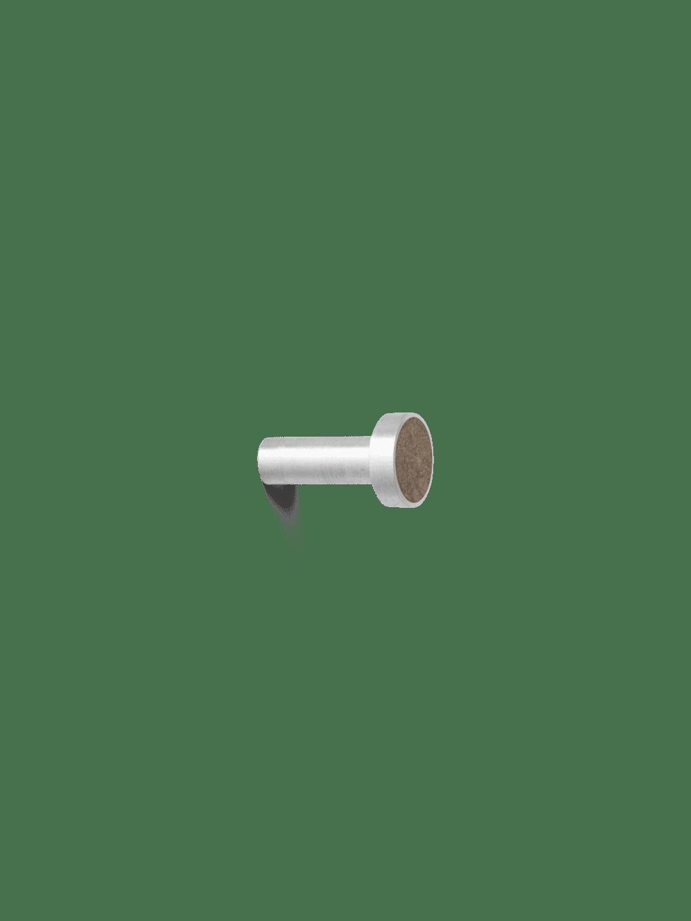 מתלים מעוצבים Steel Marble Small Brown