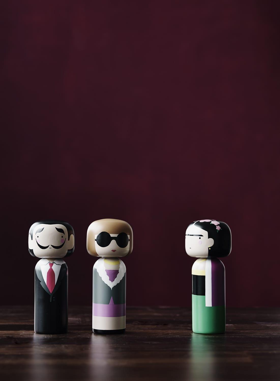 סדרת בובות דקורטיביות - ריהוט מודרני