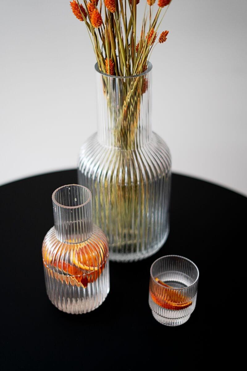 אגרטלים יוקרתיים מזכוכית בעבודת יד